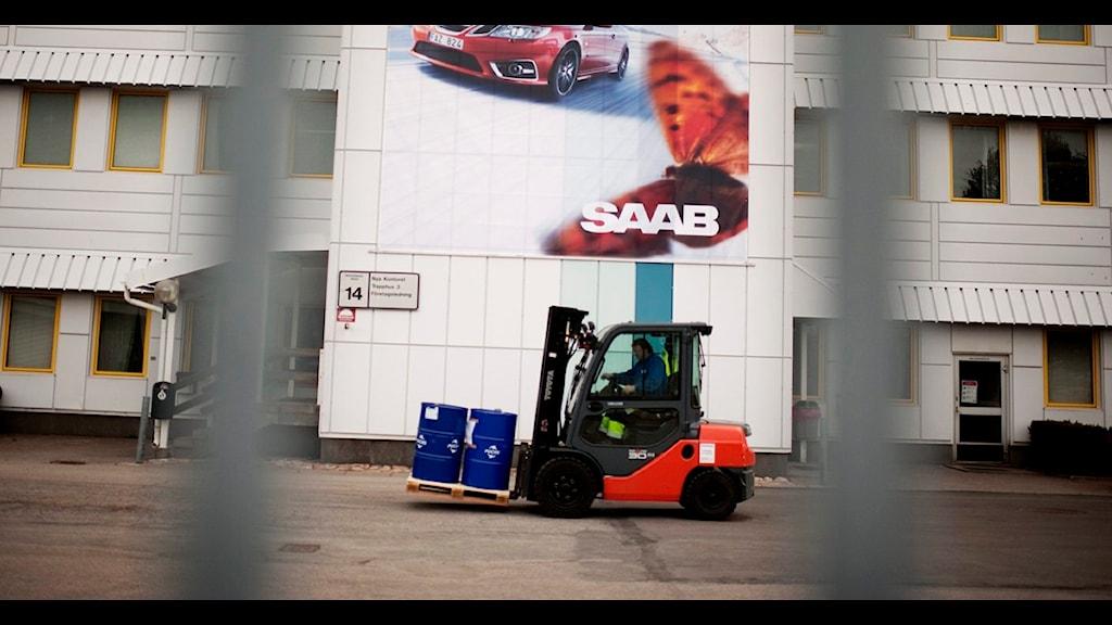 Saabs cheeta-projekt blir försenat. Foto: Scanpix/Erik Abel.
