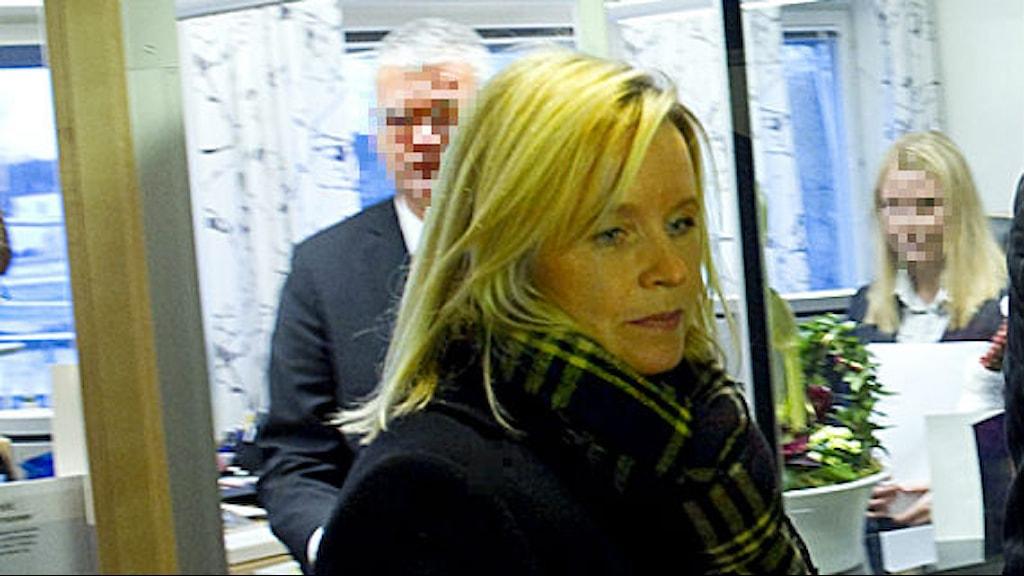 Kristina Geers, Saabs före detta chefsjurist.