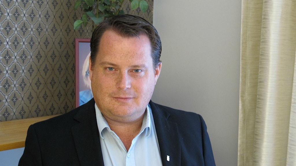 Michael Karlsson , socialdemokratiskt kommunalråd i Åmål