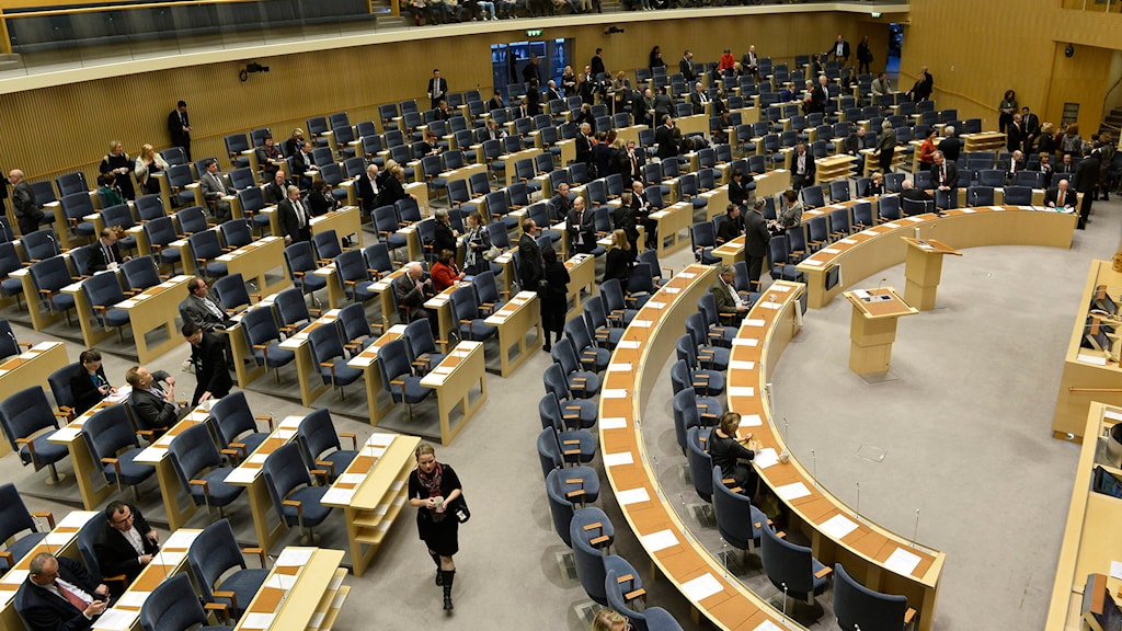 Sveriges riksdag. Foto. Anders Wiklund/TT.
