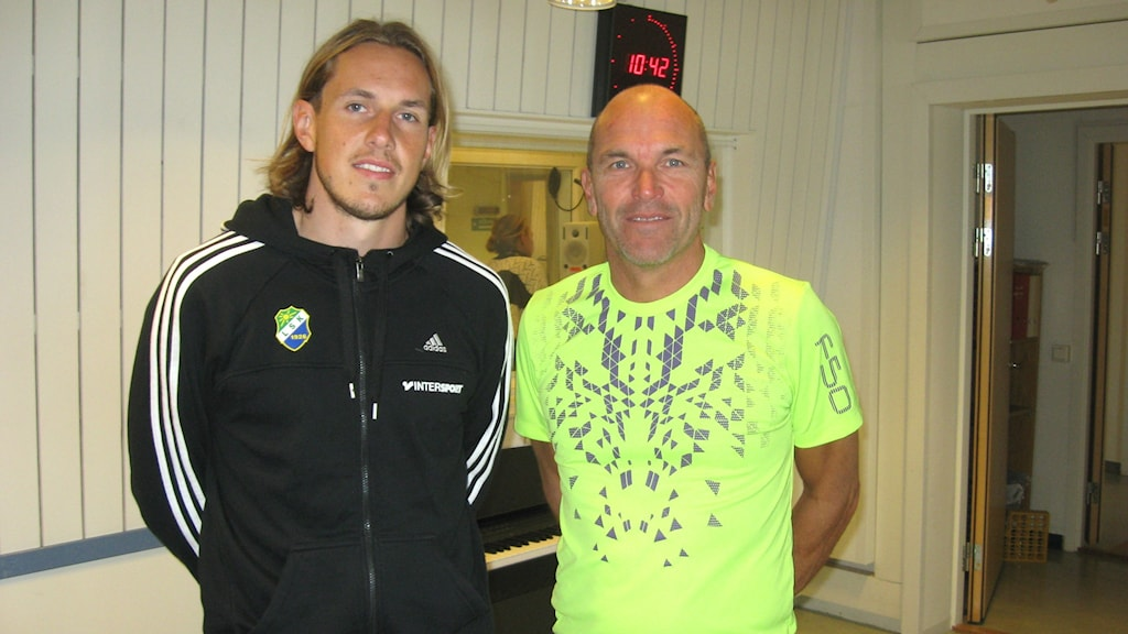 David Johanesson och Tor-Arne Fredheim. Foto: Lisa Lysell