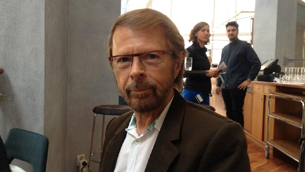 Björn Ulvaeus. Foto: Marcus Gorne/P4 Väst Sveriges Radio