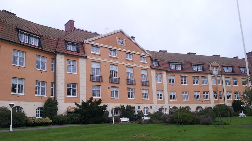 Arkitekt Ivar Tengbom ritade sanatoriet som stod klart 1913. Foto: Marie Sjöberg / Sveriges Radio