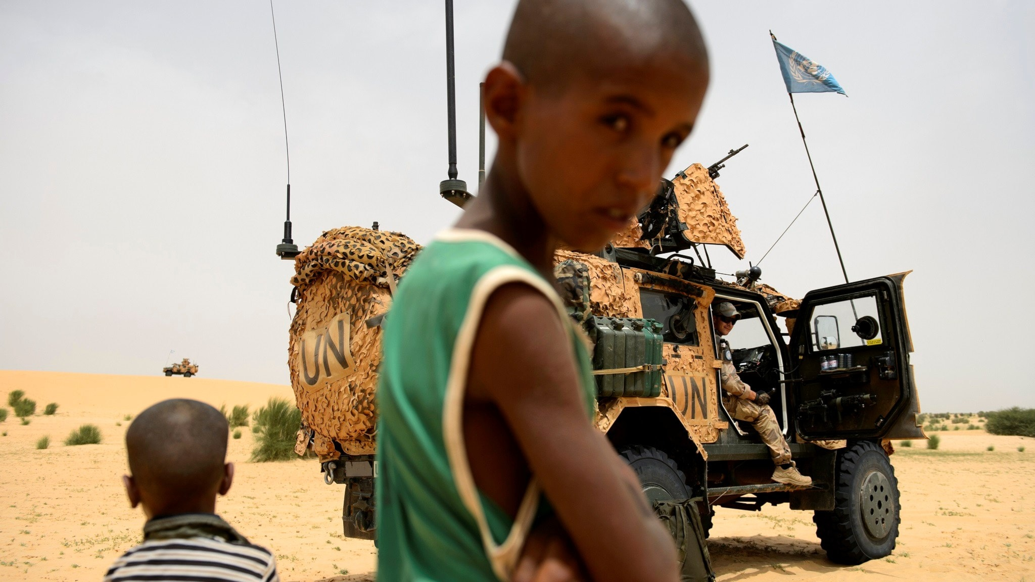 JAS-plan, drönare och Sahels kollaps