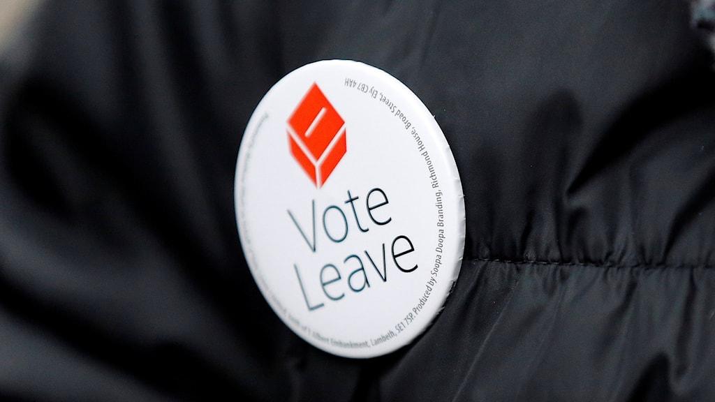 Brexit och nationalismen