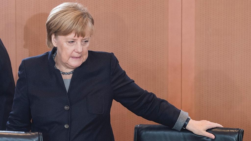 Merkel och flyktingarna