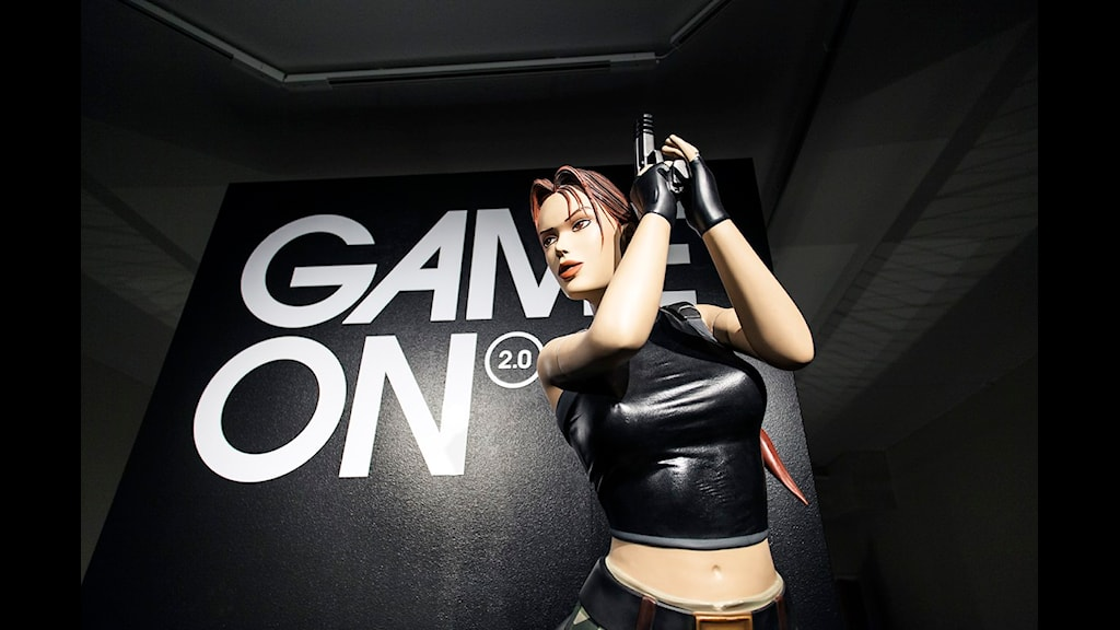 Vetenskapsradion Forum besöker Game On 2.0, världens största dataspelsutställning. (Foto: Anna Gerdén)