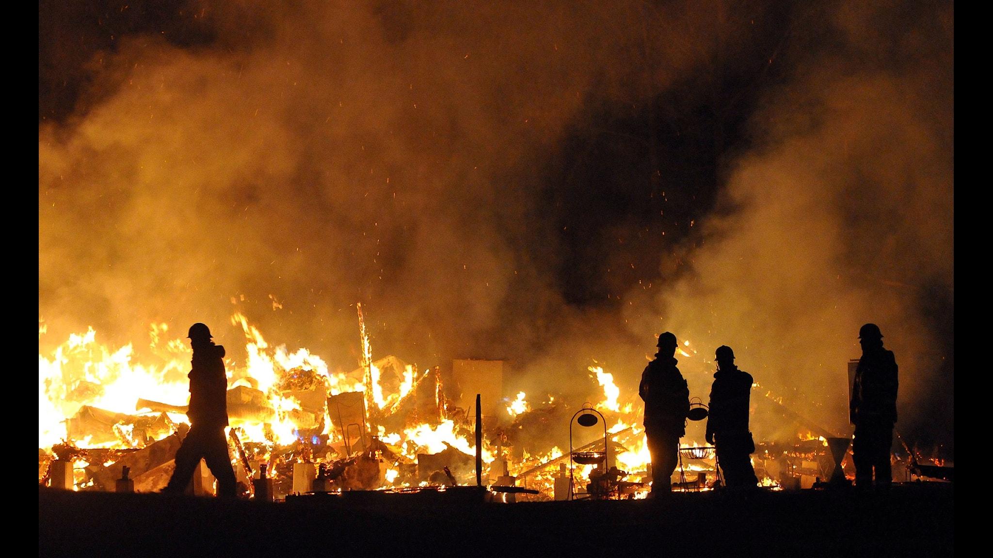 Svensk räddningstjänst brister i utbildning och övning
