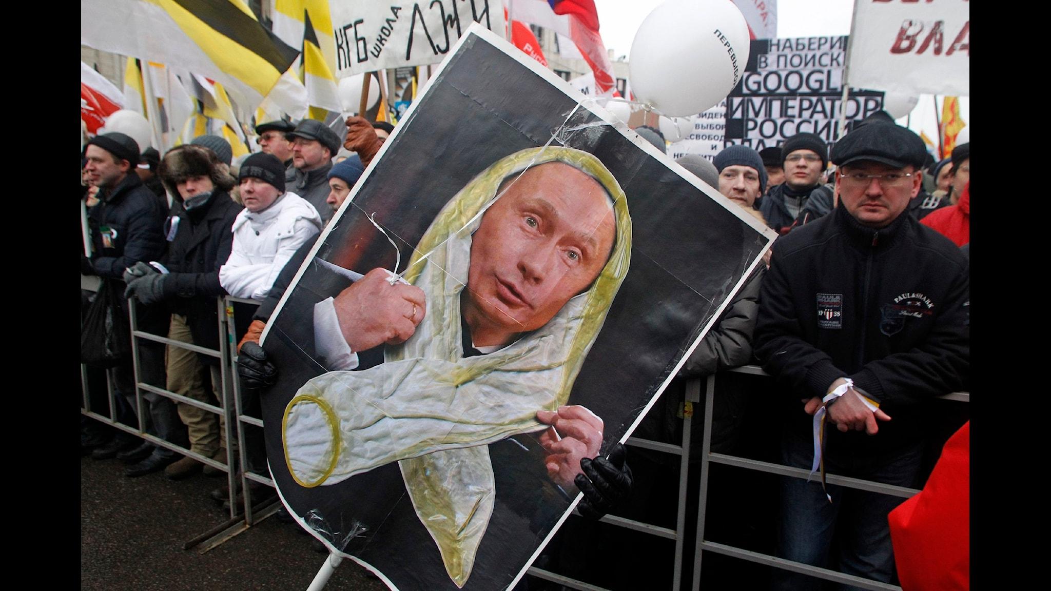 Konstnärliga protester i Putins Ryssland