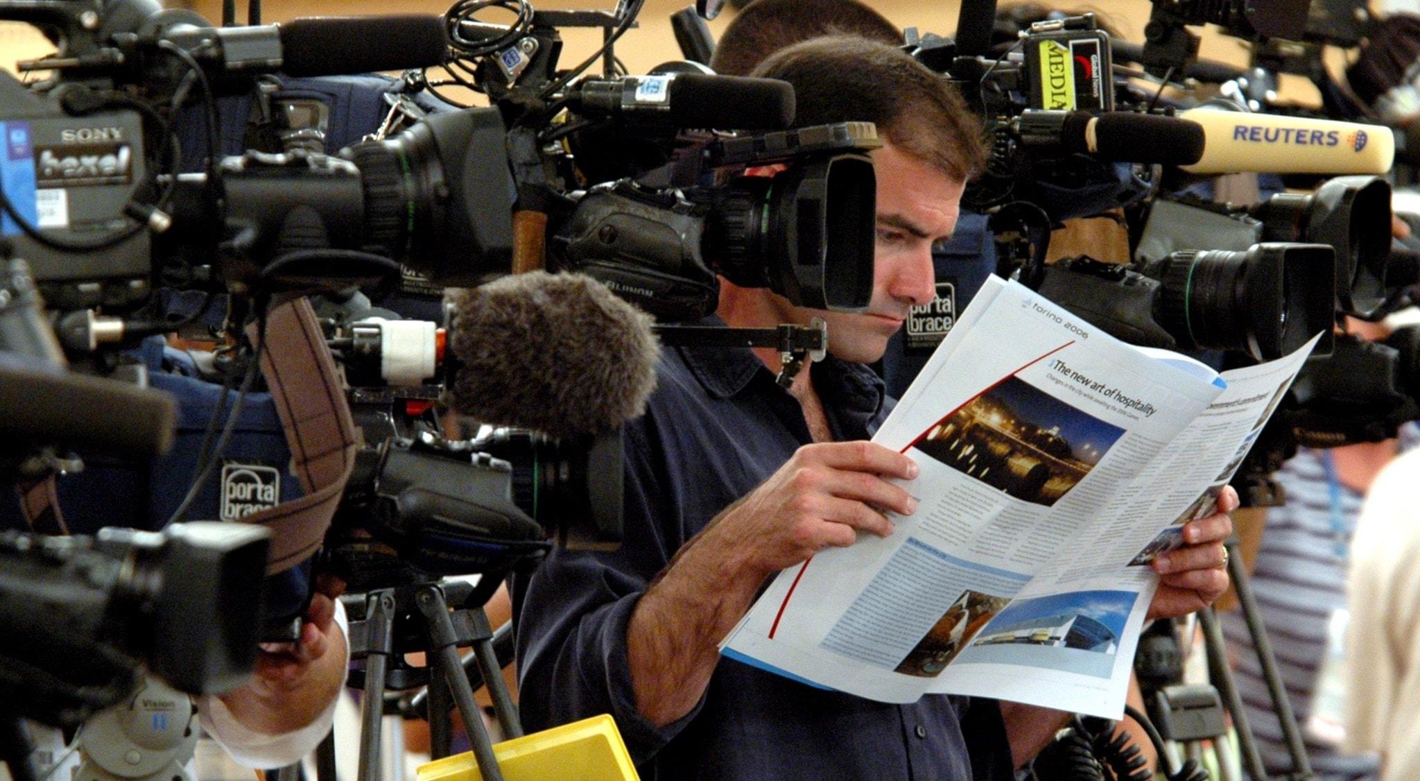 Hur myndigheterna utnyttjar medierna