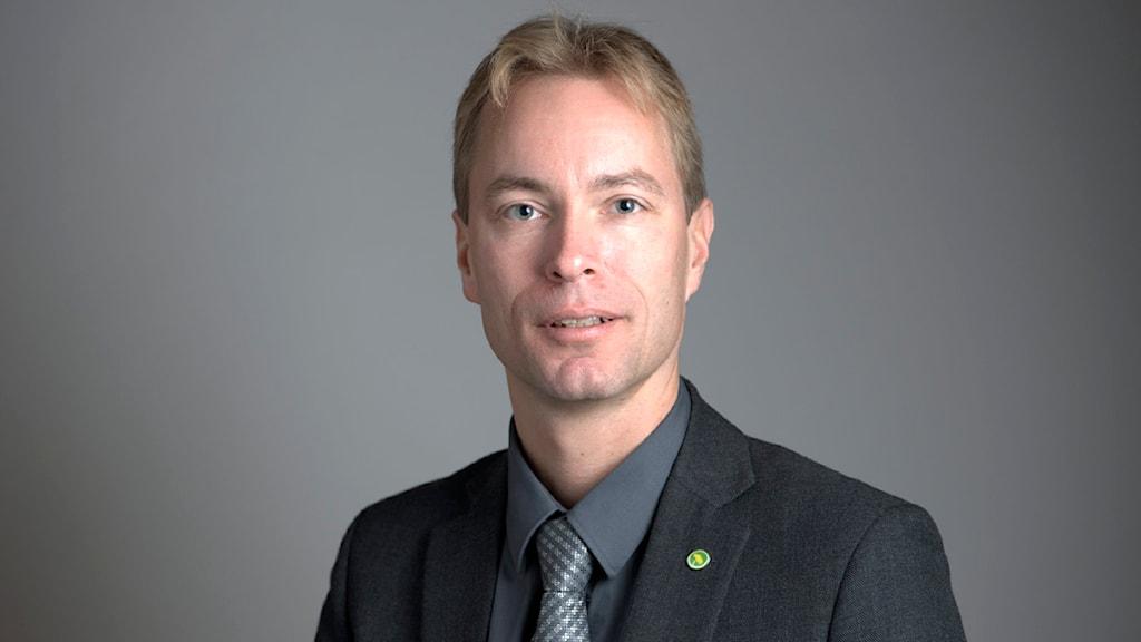 Jonas Eriksson, politiker, riksdagsledamot för Miljöpartiet Foto: Henrik Montgomery / SCANPIX
