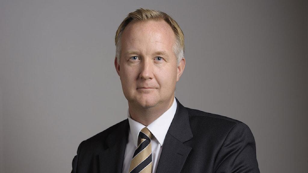 Johan Pehrson, riksdagsledamot för Folkpartiet. Foto: Henrik Montgomery/Scanpix