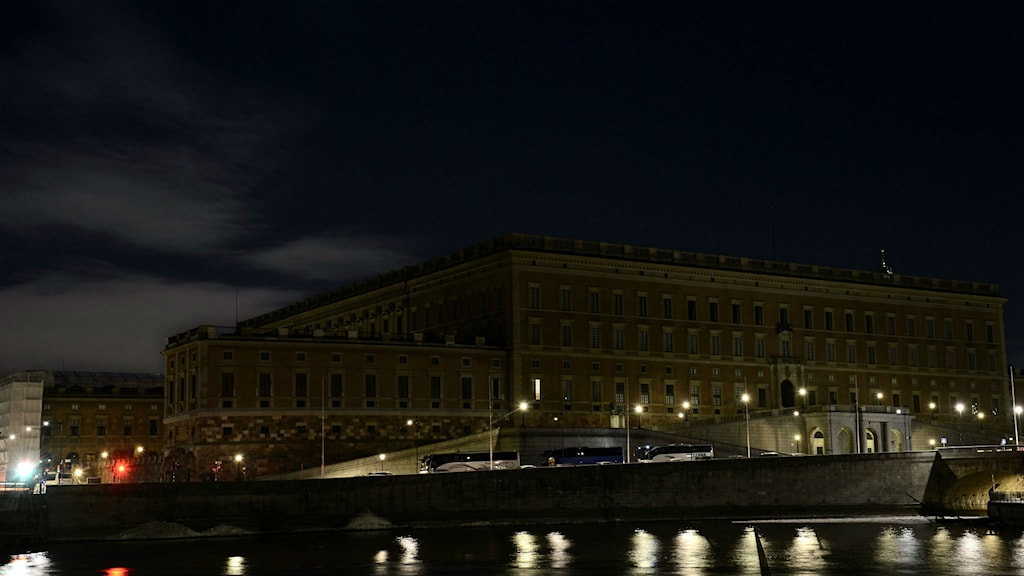 Stockholms slott, Earth hour.