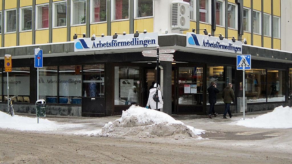 Arbetsförmedlingen i Linköping.
