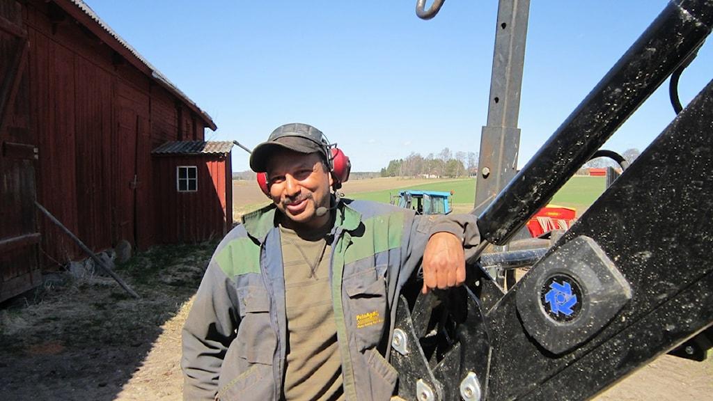 Peter Borring. Foto: Raina Medelius/Sveriges Radio