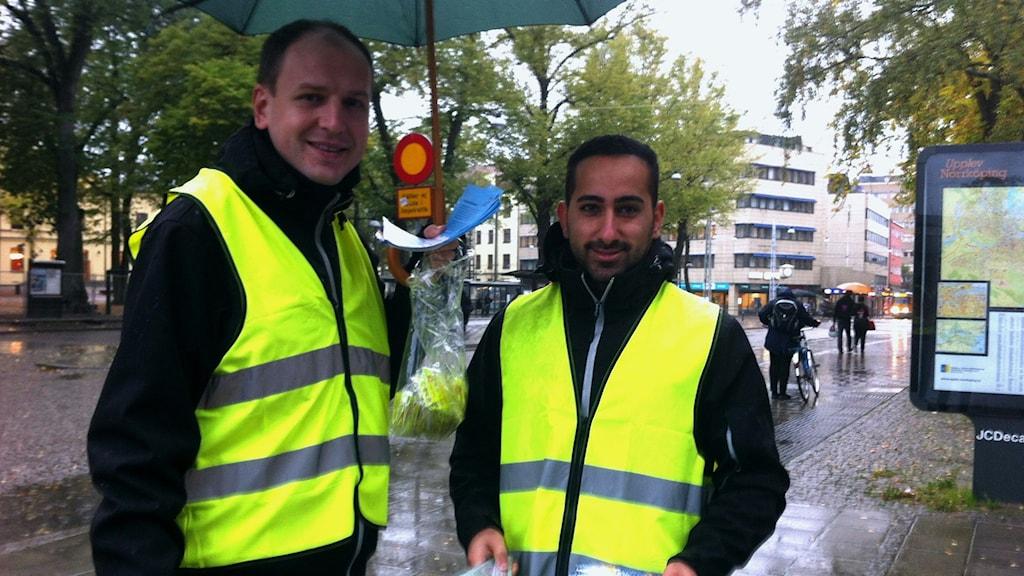Enver Memic och Gabriel Külen, Norrköpings kommun