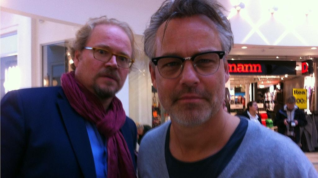Fredrik Lindström och Henrik Schyffert.