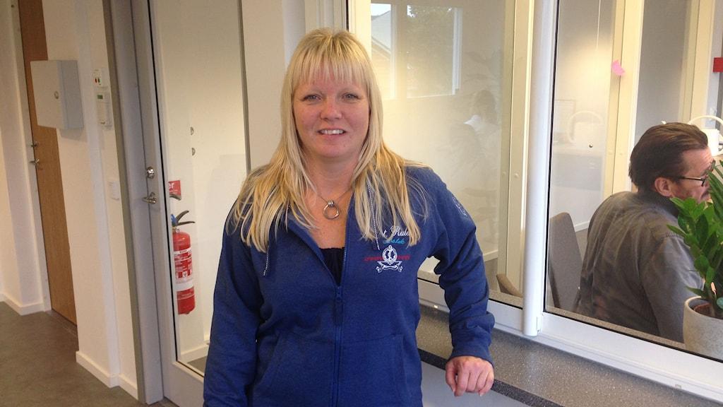 Lotta Kindgren, vårdenhetschef på Beroendekliniken i Norrköping.