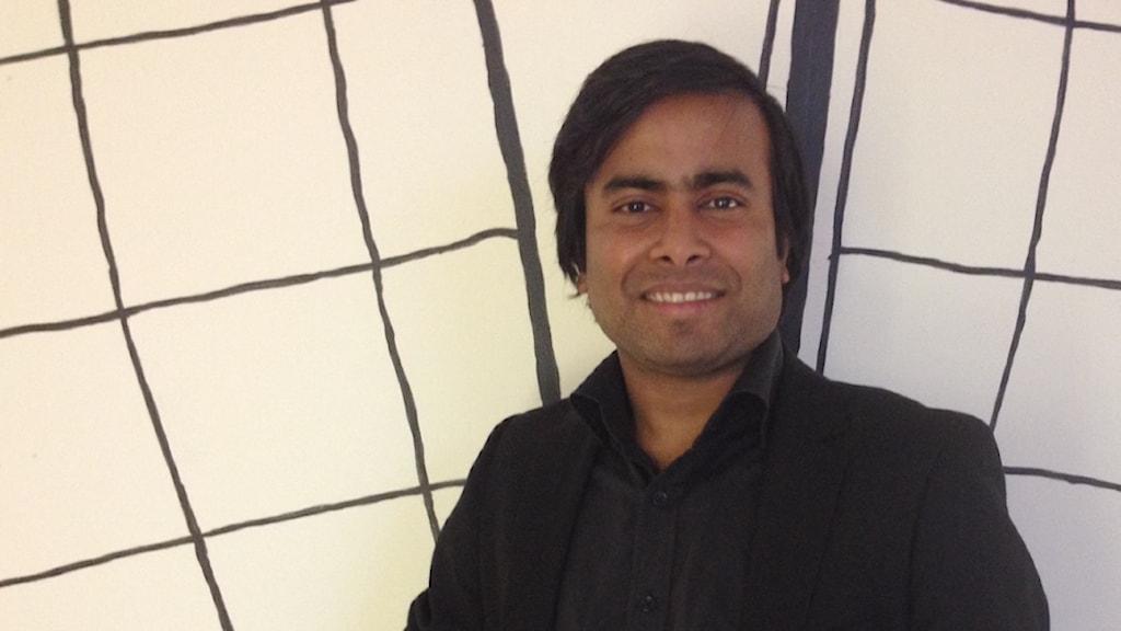 Arifur Rahman fick en fristad i Norge. Foto: Lana Brunell/Sveriges Radio.