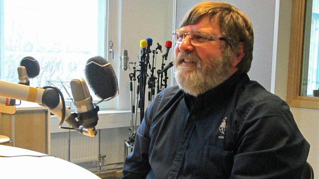 Frank Lindström, ordförande i SMC Östergötland. Foto: Malte Nordlöf/Sveriges Radio
