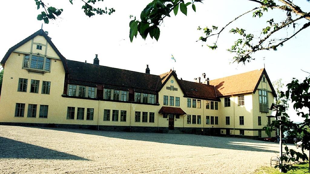 Lundsbergs internatskola. Foto: Scanpix.