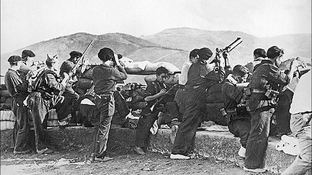 spanska inbördeskriget