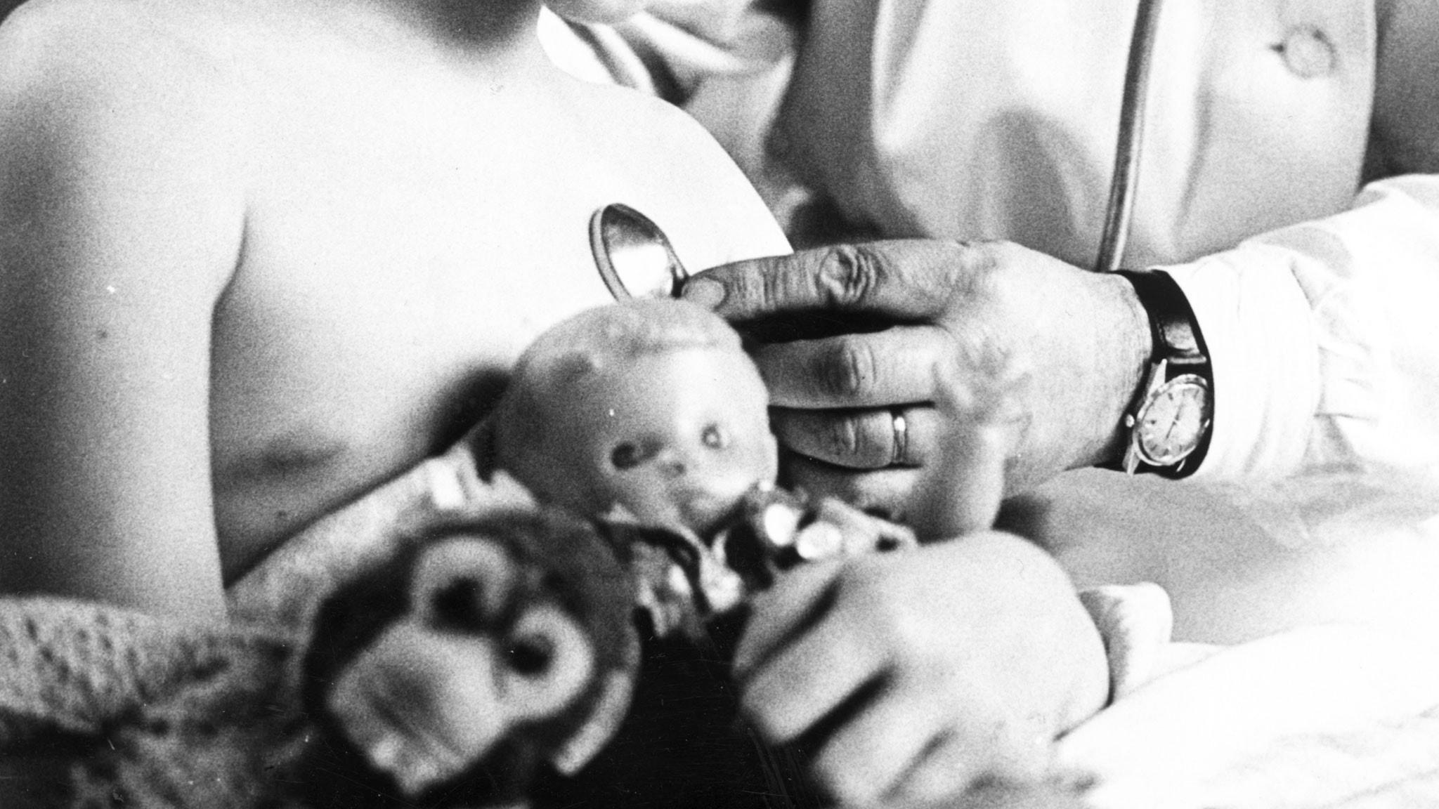Provinsialläkarens hembesök 1958