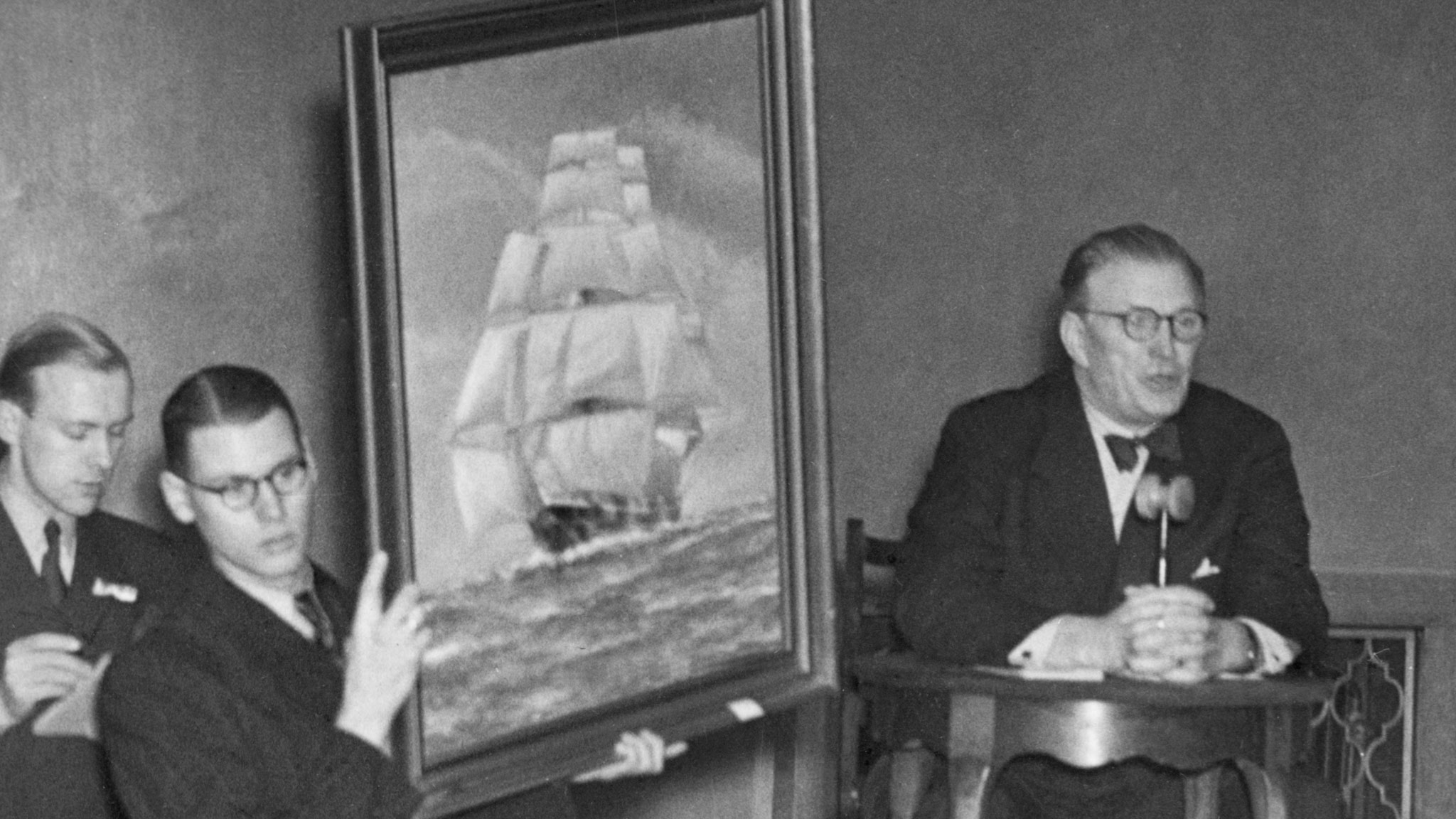 Auktion i Stockholm 1950