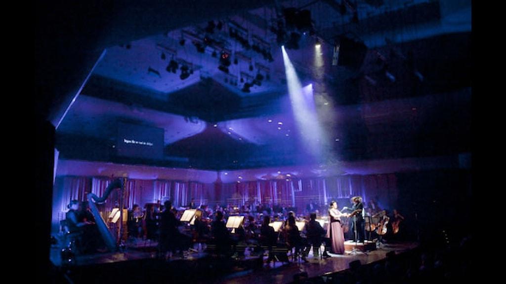 Konsert från Östersjöfestivalen 2010. Foto: Johan Ljungström/SR