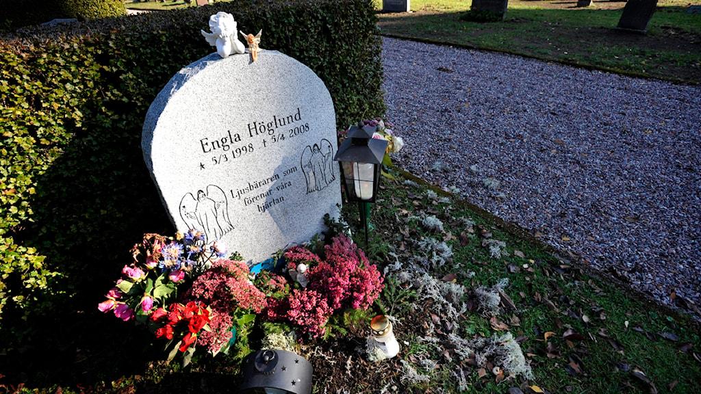 Engla Höglund hittades död den 13 april 2008.