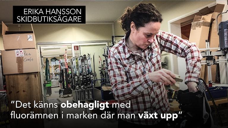 Erika Hansson dalskidan Sälen