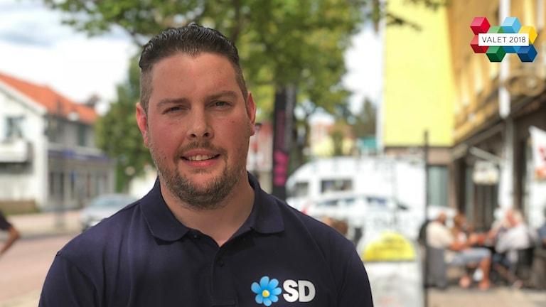 Johan Persson, Sverigedemokrat, valet 2018, Smedje...