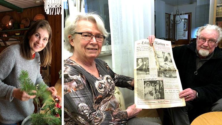 Birgitta Persson husmor Lilla Hyttnäs Gunilla Göra...