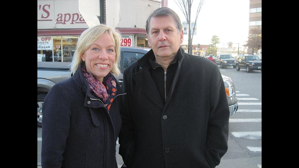 Ginna Lindberg & Sten Sjöström sänder från Peterborough, New Hampshire.