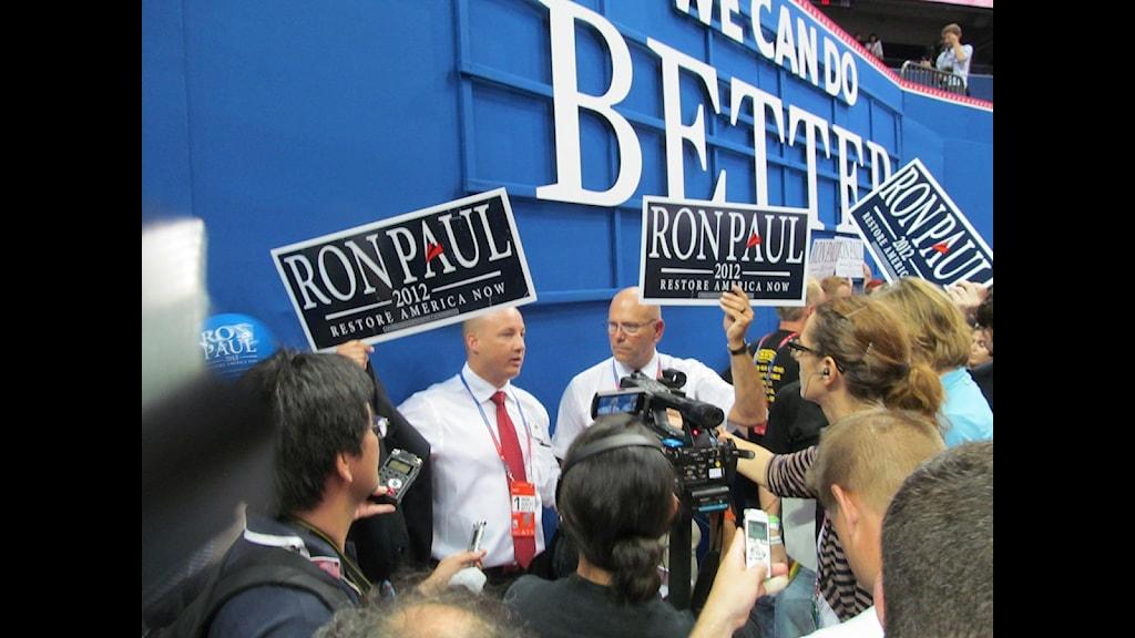 Republikanernas konvent. Foto: Ginna Lindberg/SR
