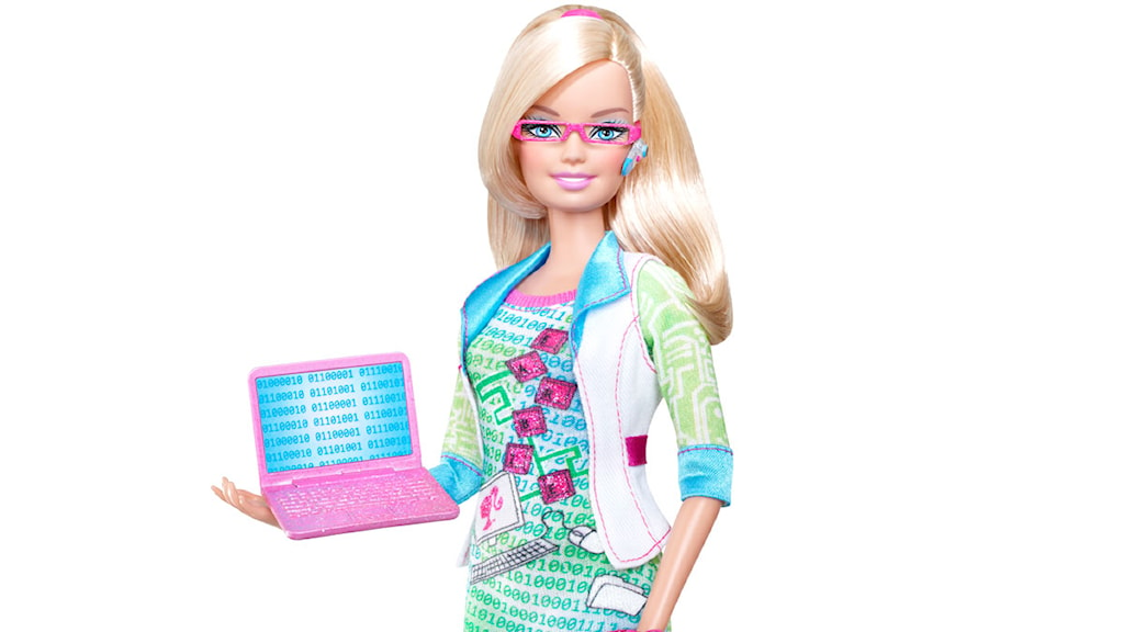 Barbie som it-proffs. Foto: Barbie.com