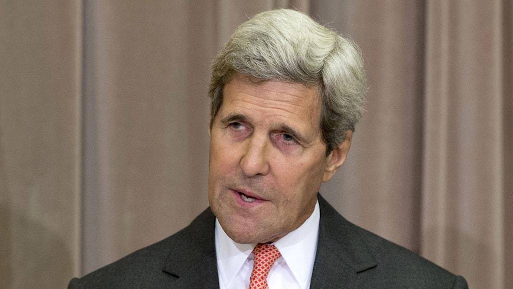 USA:s utrikesminister John Kerry. Foto: Carolyn Kaster/TT
