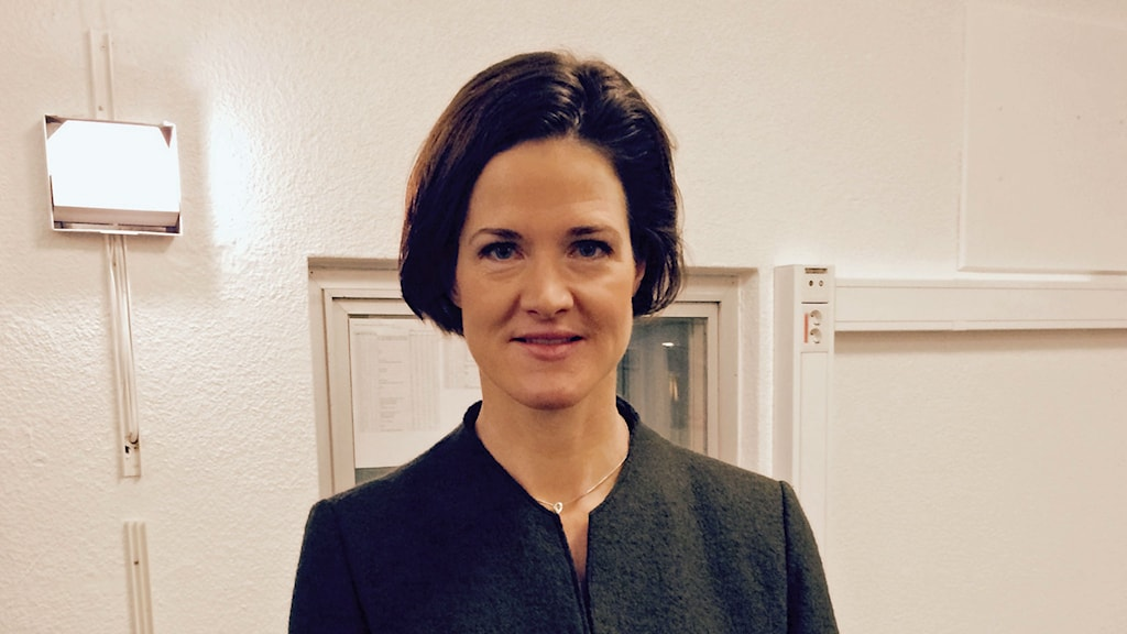 Anna kinberg batra partiledarkandiat för moderaterna foto josef el