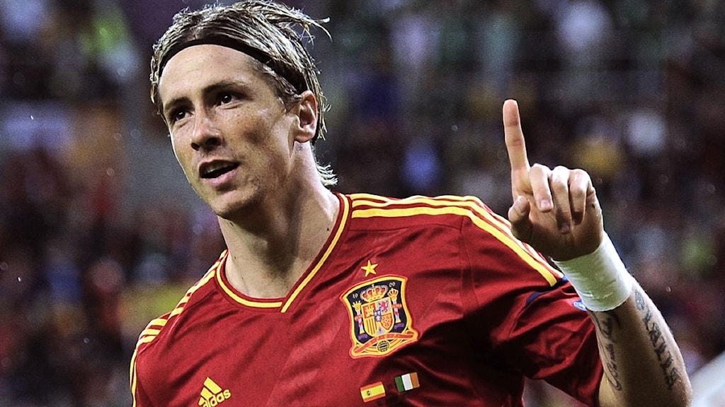 Fernando Torres fotbolls-Em 2012.
