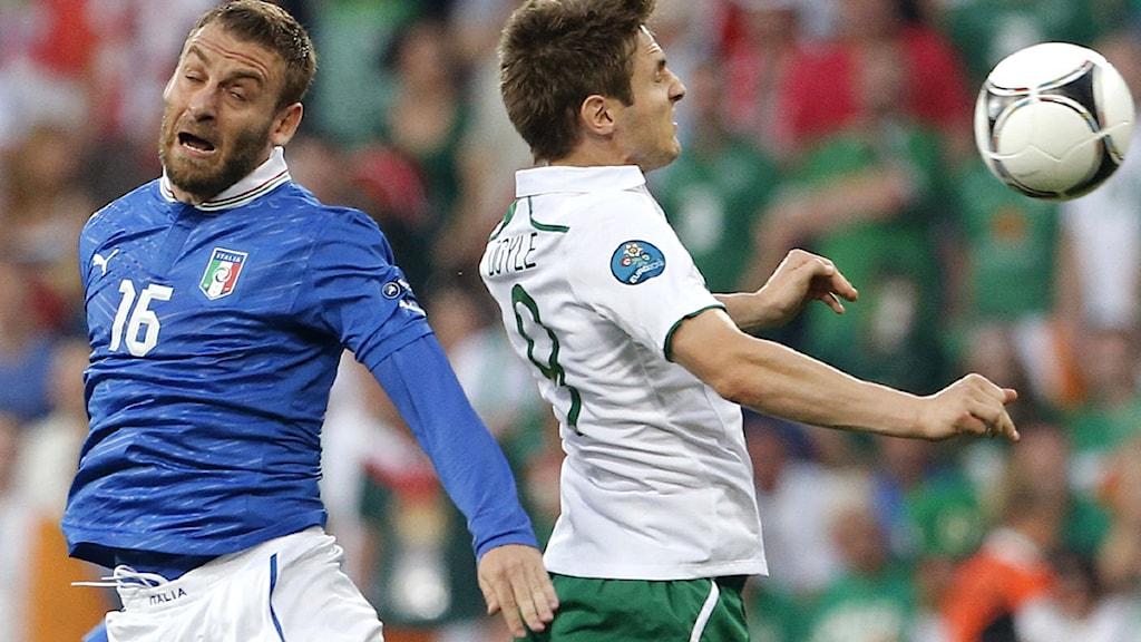 Italien-Irland, fotbolls-EM 2012. Foto: Gregorio Borgia/Scanpix.