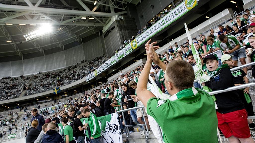 Hammarby på nya arenan