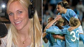 Frisk om Malmö FF. Foto: SR och TT Nyhetsbyrån