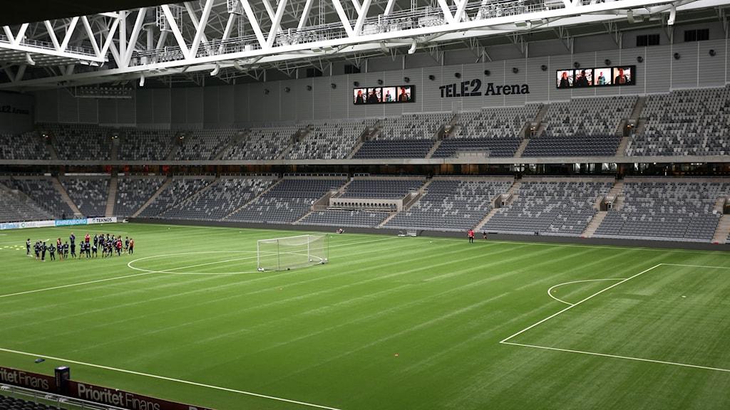 Bandyfinalen kommer att gå i Stockholm våren 2015. Foto: Sören Andersson/TT