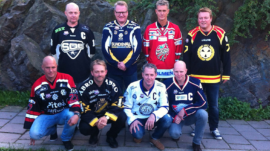 2014 Tränarna i Riksserien. Foto: Joel Snickars/SR