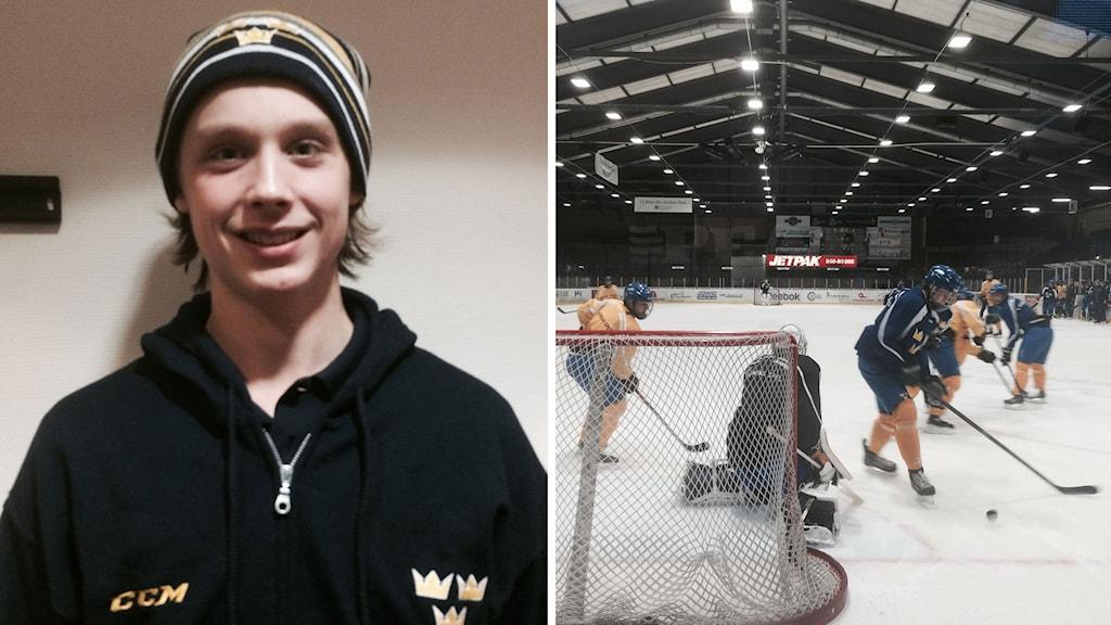 Dahlén visar upp sig inför 100 NHL-scouter - Ishockey   Sveriges ...