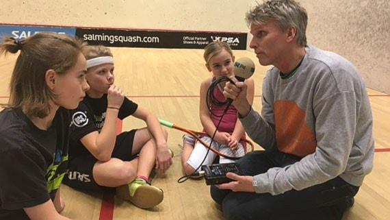 Squash – den näst mest krävande sporten
