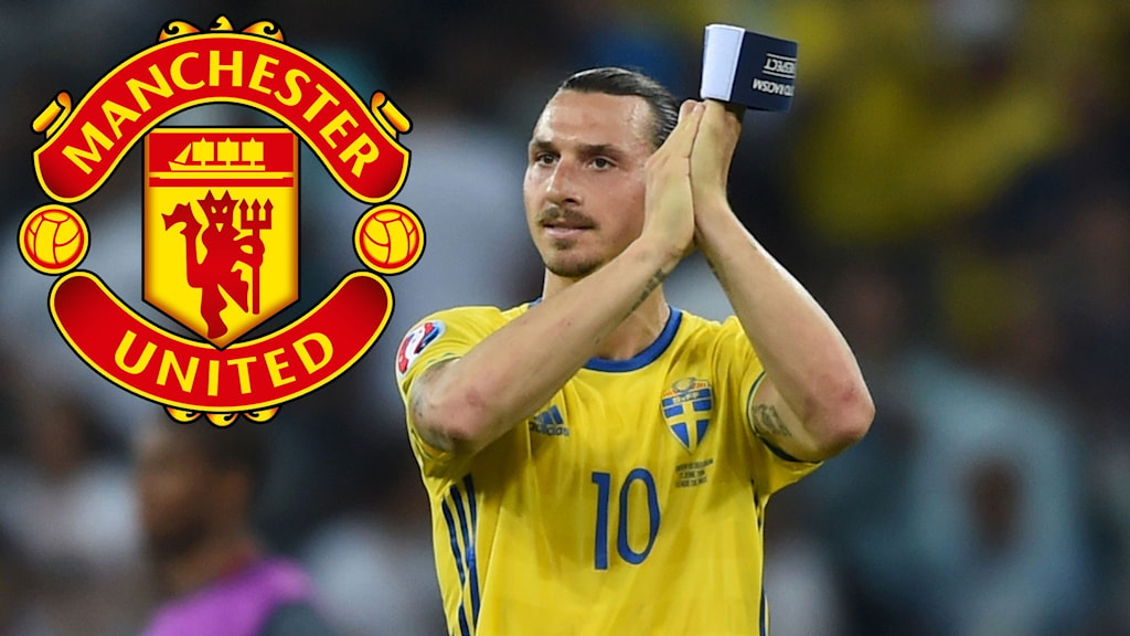 Zlatan Ibrahimovic will play for Manchester United in 2016. Photo: TT.