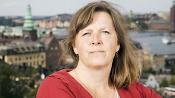 Maria Persson Löfgren, Moskva. Foto: Mattias Ahlm/Sveriges Radio.