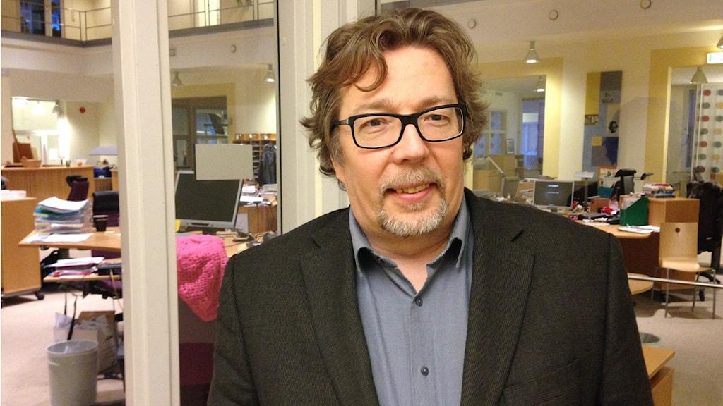 Kunnanneuvos Lari Pitkä-Kangas. Foto: A-L Hirvonen Nyström/SR Sisuradio
