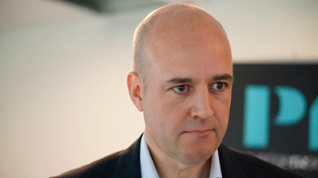 Fredrik Reinfeldt. Foto: Lotta Hoppu / Sveriges Radio Sisuradio